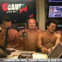 M.Pokora, Keen'V et Kev Adams nus chez Cauet sur NRJ : la vidéo sexy est arrivée !