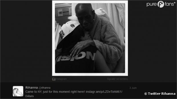 Rihanna rend visite à sa grand-mère malade