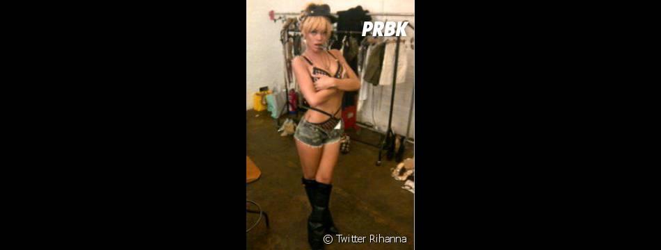 Rihanna au plus mal...