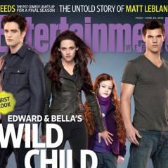 Twilight 5 : Edward, Bella, Jacob et Renesmée à la une ! (PHOTOS)