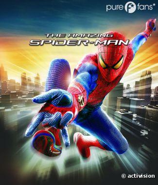 Voici la probable pochette du jeu The Amazing Spider-Man