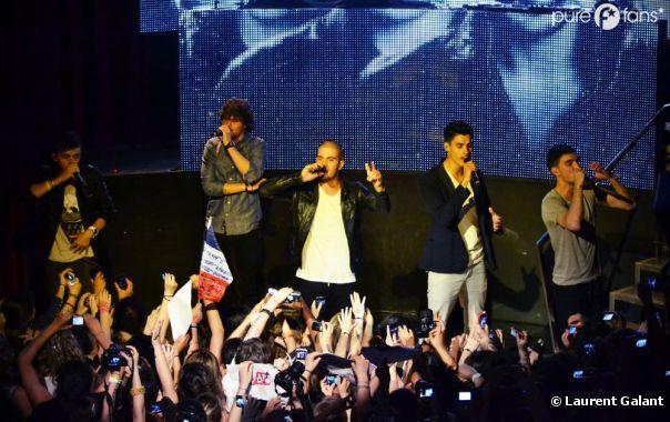 The Wanted a donné un concert exceptionnel à Paris