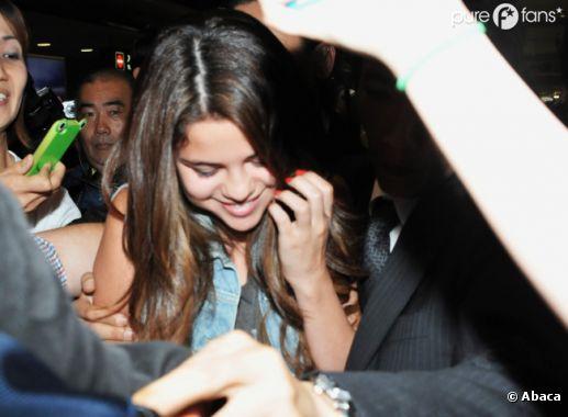 Selena Gomez a le sourire !