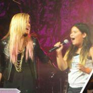 Demi Lovato : Elle invite sa petite soeur à chanter sur scène avec elle (VIDEO)