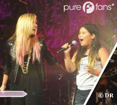 Demi Lovato et sa petite soeur.