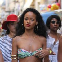 Rihanna : shopping en bikini à St Trop' ! Mais où est Chris Brown ? (PHOTOS)