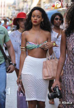 Rihanna hot à St-Trop' !