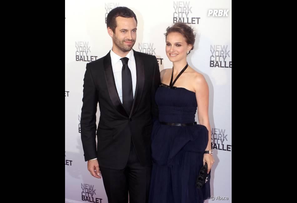 Natalie Portman et Benjamin Millepied, enfin mari et femme !