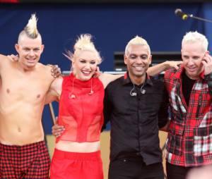 No Doubt après leur prestation dans Good Morning America !