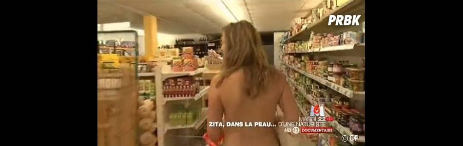 Zita s'est finalement rapidement habituée au naturisme !