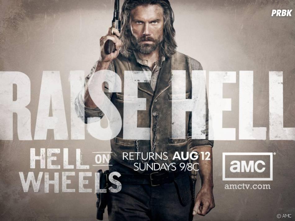 Une saison encore plus dark et violente pour Hell on Wheels