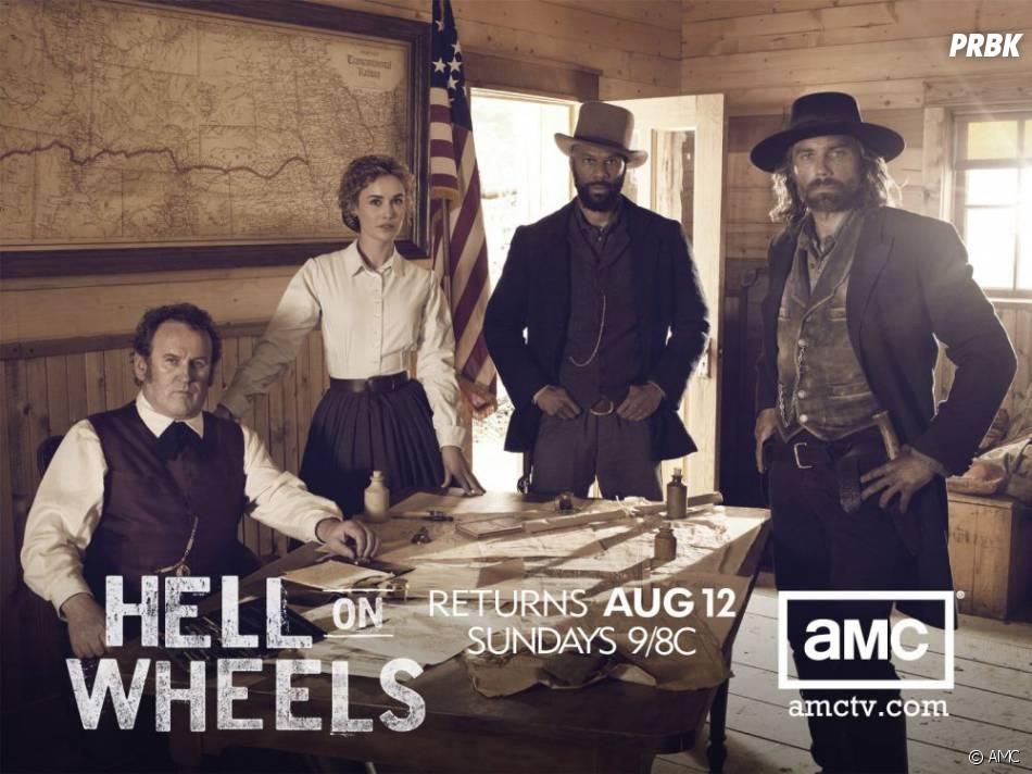 Hell on Wheels saison 2, tous les dimanches aux US sur AMC