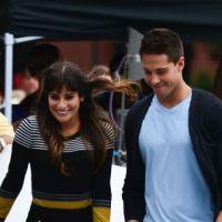 Glee saison 4 spoiler : Lea Michele et son nouveau prétendant très proches sur le tournage ! (PHOTOS)