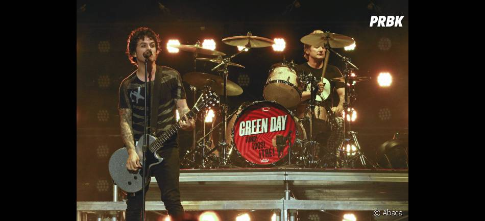 Green Day a clôturé Rock en Seine 2012