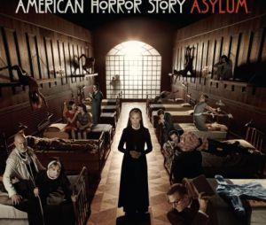 Première affiche promo de la saison 2 d'American Horror Story.