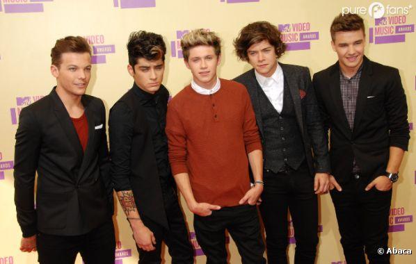 Le groupe One Direction est un modèle pour les fans