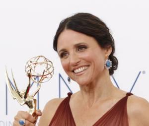 Julia Louis-Dreyfus remporte le prix de Meilleure actrice dans une comédie aux Emmy Awards 2012