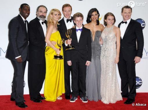 Homeland met les Emmy Awards 2012 à ses pieds !