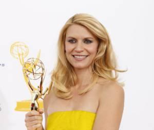 Claire Danes, meilleure actrice dans une série dramatique aux Emmy Awards 2012