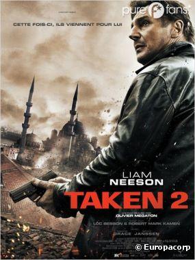 Taken 2 sort le 3 octobre au cinéma