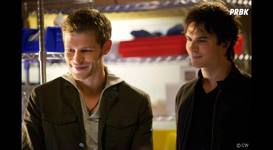 Klaus  is back  dans l'épisode 3 de la saison 4 de  Vampire Diaries