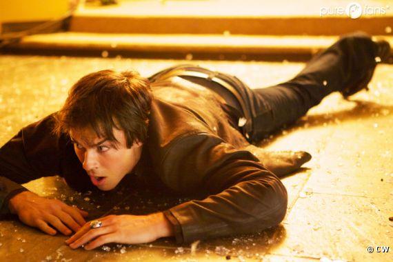 Gros problème pour Damon dans l'épisode 3 de la saison 4 de Vampire Diaries