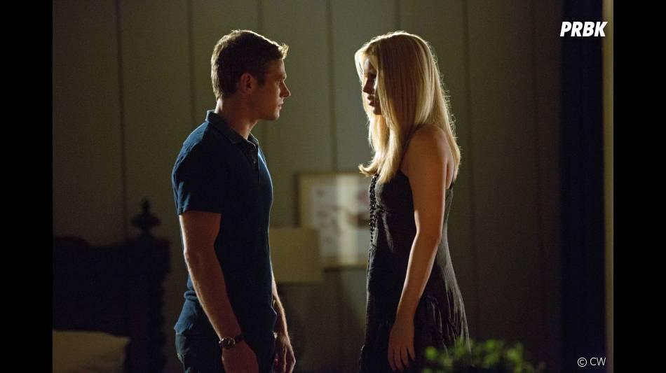 Rebekah face à Matt dans  Vampire Diaries