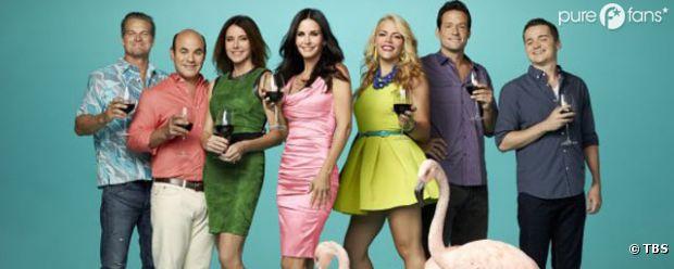 Première affiche promo pour la saison 4 de Cougar Town