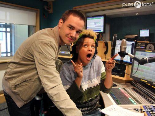 Liam Payne pendant son interview pour BBCR1