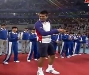 Novak Djokovic a repris Gangnam Style !