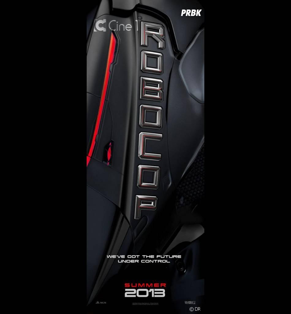 Affiche teaser du remake de Robocop