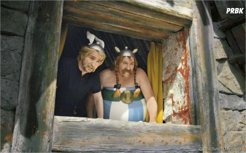 Astérix et Obélix dans le dernier film de leurs aventures