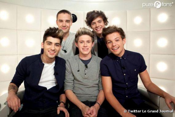 """Les One Direction dans """"La Boîte à Questions"""""""