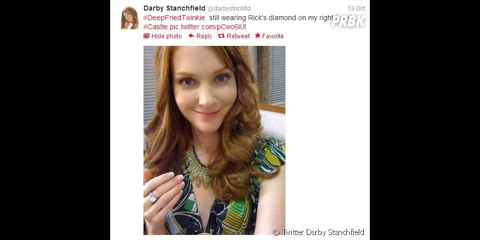 Darby Stanchfield de retour dans  Castle  ?