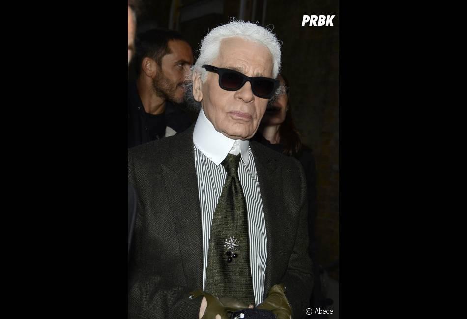 Karl Lagerfeld dit tout ce qui lui passe par la tête