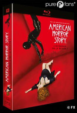 la Saison 1 d'American Horror Story sort enfin en DVD
