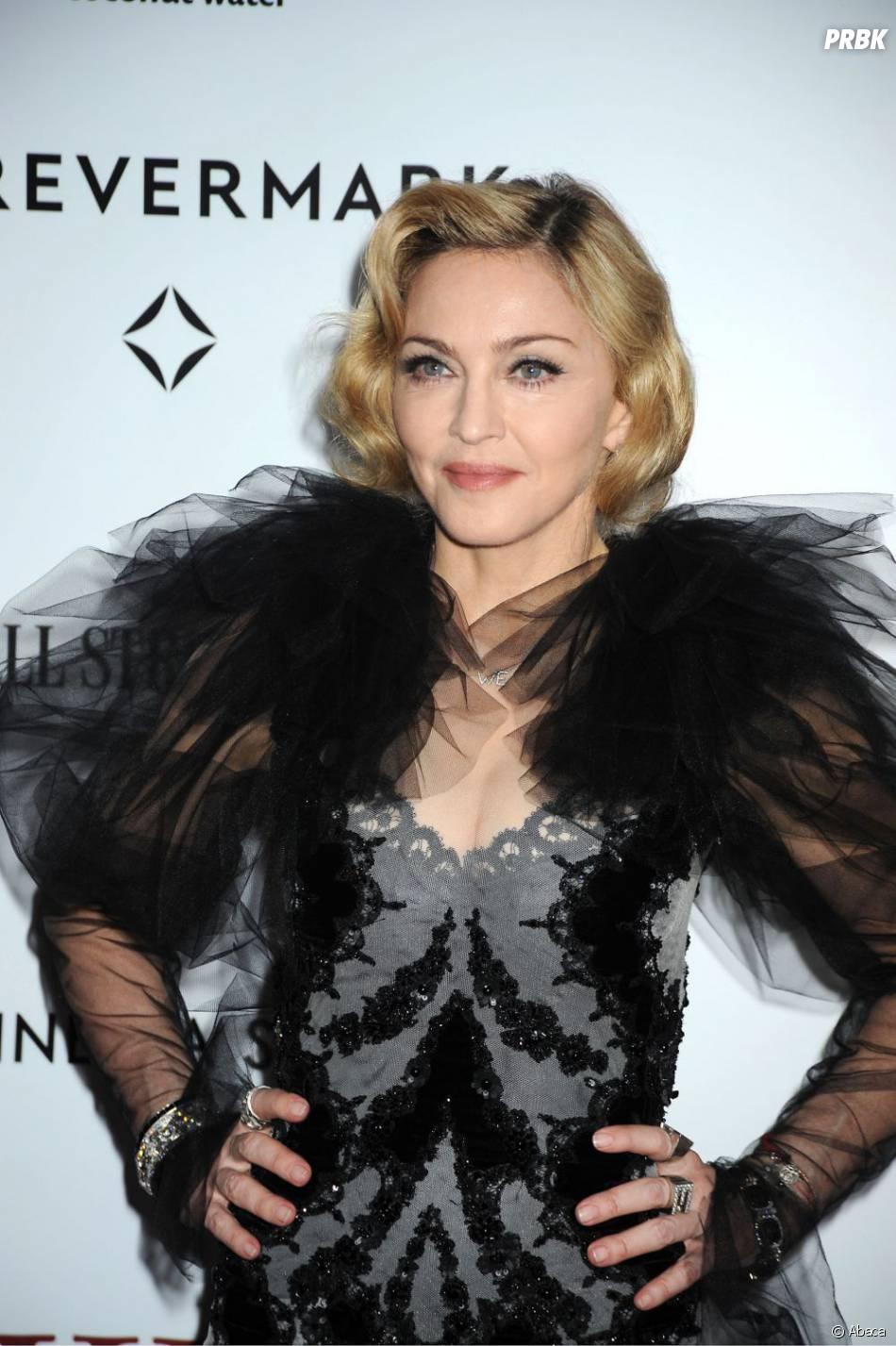 Madonna a des fans un peu trop insistants...