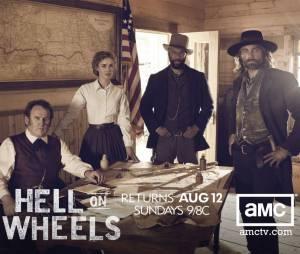 Hell on Wheels revient en 2013 !