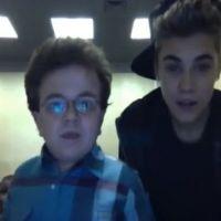 Justin Bieber : son gros délire avec Keenan Cahill !(VIDEO)