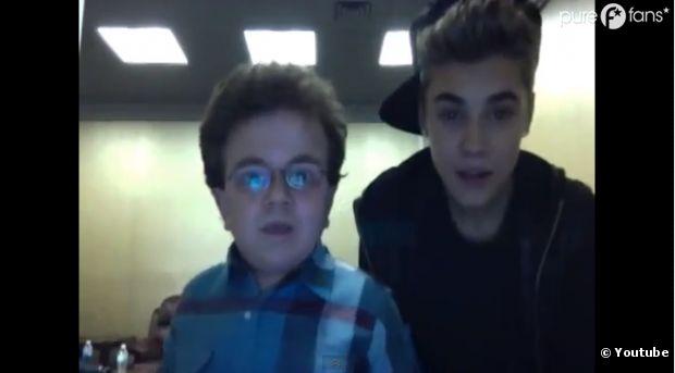 Justin Bieber s'éclate avec Keenan Cahill !