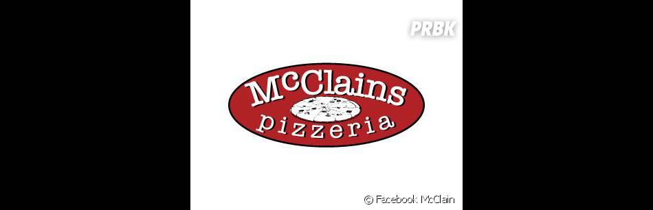 Voici le logo du restaurant des parents d'Ian !