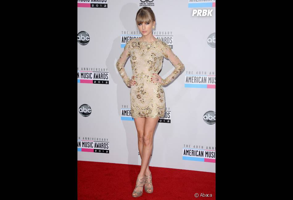 Taylor Swift, glam' sur le tapis rouge