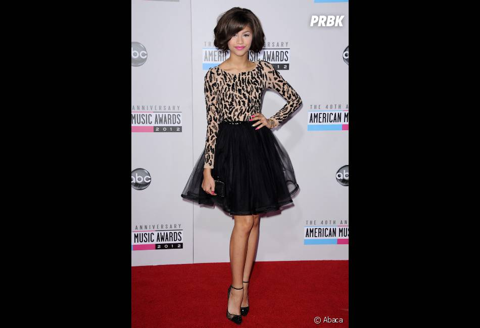 Zendaye, so chic aux AMA 2012