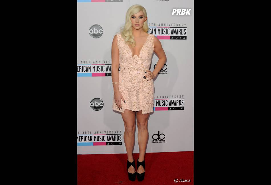 "Kesha, ""normale"" aux AMA 2012"