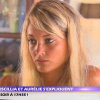 L'Ile des vérités 2 : Discussion musclée entre Aurélie et Priscilla au sujet de Samir ! (VIDEO)