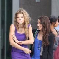 90210 saison 5 : tournage frisquet pour Naomi, Annie et les autres ! (PHOTOS).