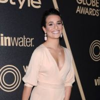 Lea Michele : décolleté so sex pour fêter les Golden Globes ! (PHOTOS)