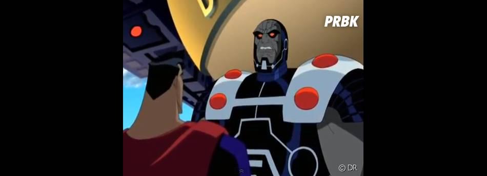 Darkseid contre Superman dans Superman : The Animated Series