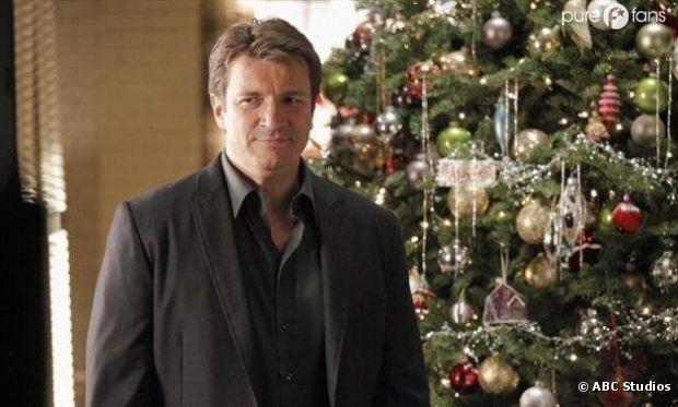 Castle adore Noël et le fait savoir