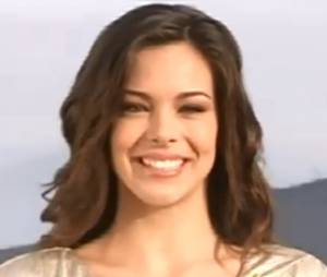 Portrait de Marine Lorphelin lors de l'élection de Miss France 2013